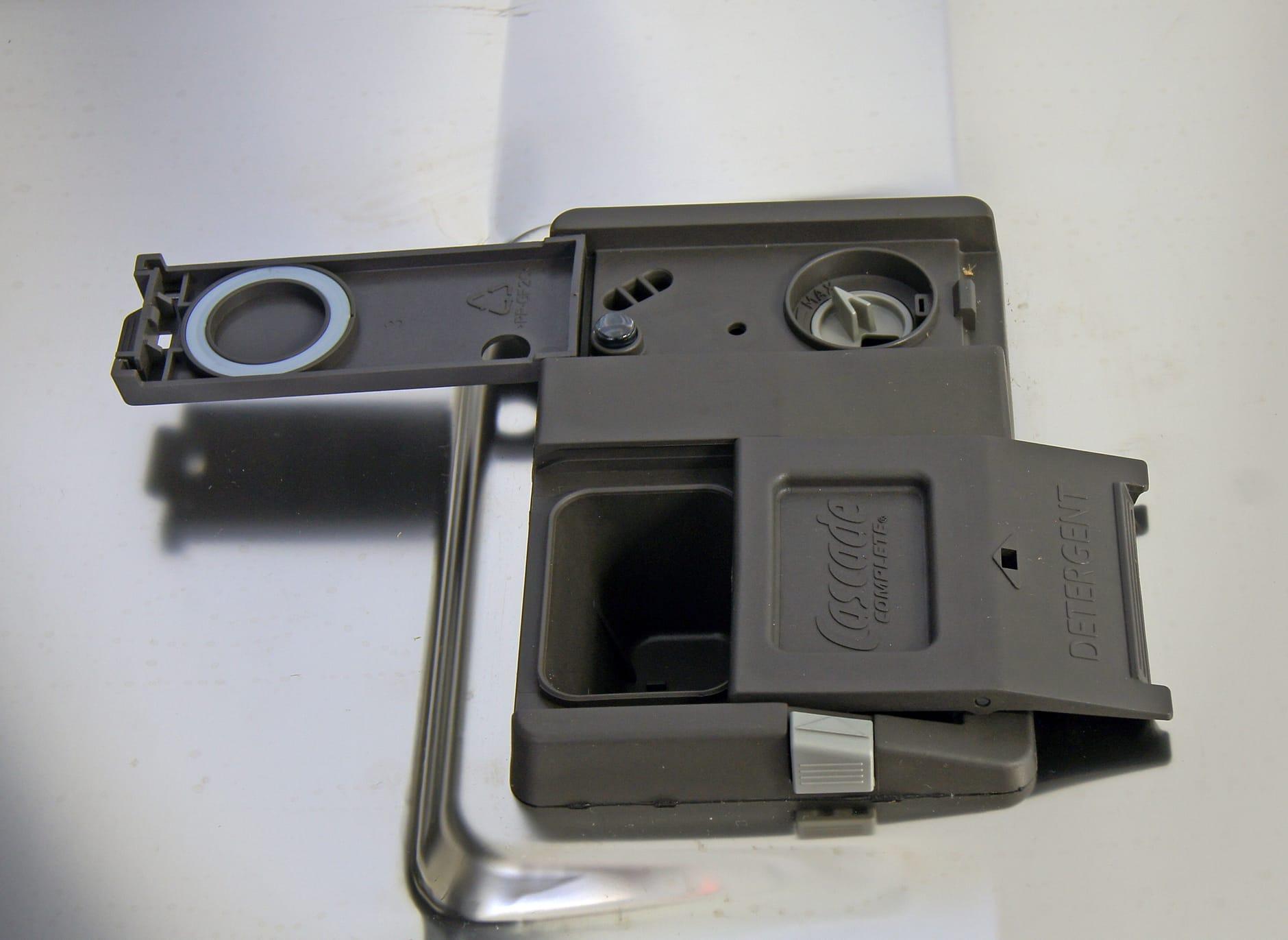 GE Monogram ZDT800SSFSS detergent dispenser