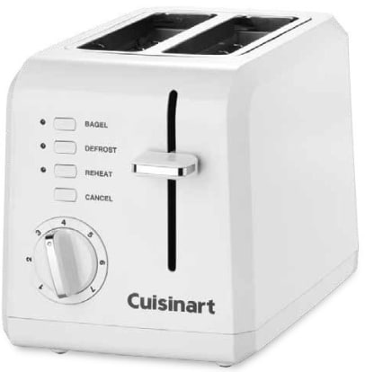 Product Image - Cuisinart 2 Slice Compact Plastic Toaster