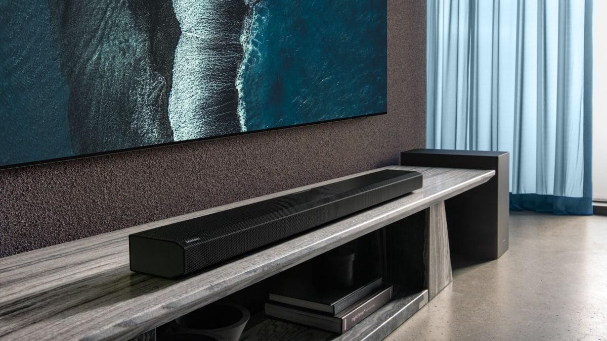 Samsung teases a monstrous Dolby Atmos soundbar for CES