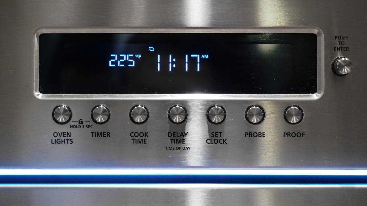 The Monogram ZET1PHSS Electric Single Wall Oven