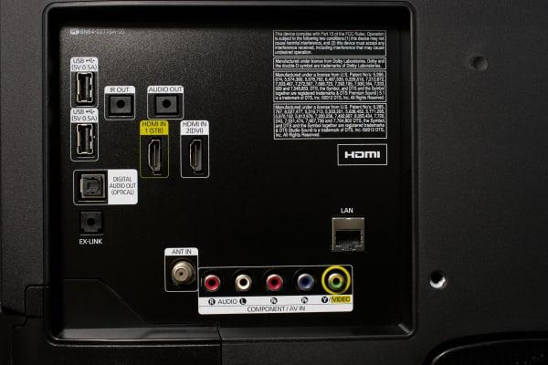 Samsung UN32H5203 ports
