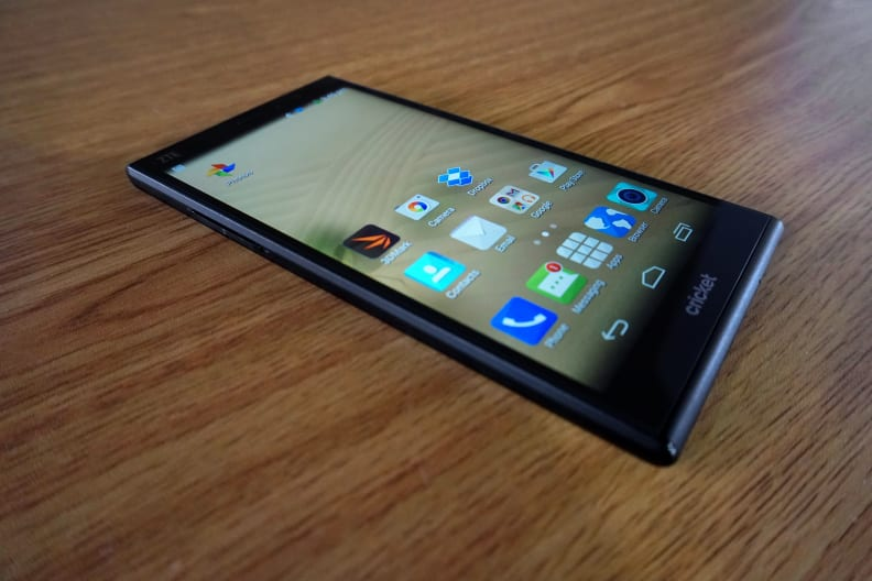 ZTE Grand X Max+ Screen and OS