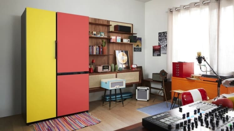 a04f339b065 Samsung is launching a line of colorful refrigerators for millennials—but  why?