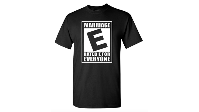 City Shirts Marriage Equality Shirt