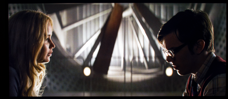 A screen grab from the movie X-Men: First Class on the Vizio M Series.