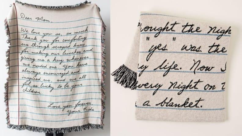 Letter Blanket