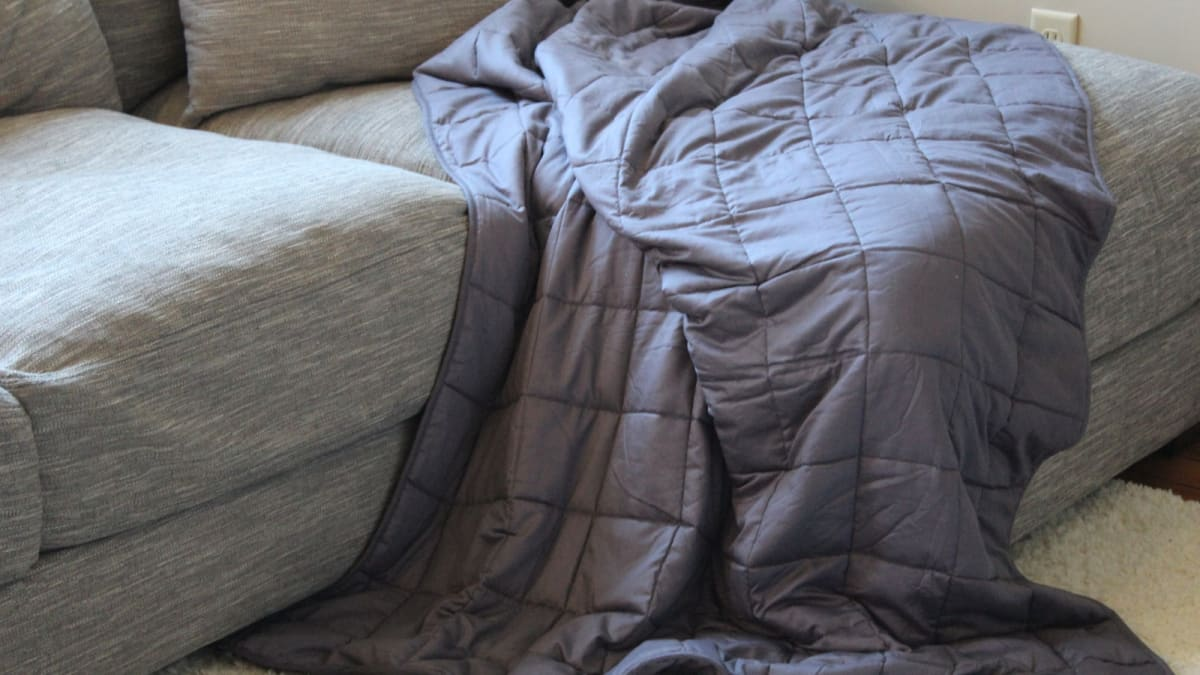Here's why everyone should own a weighted blanket