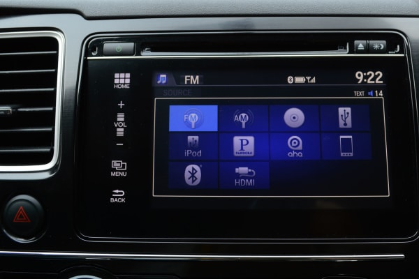 2014 Honda Civic Infotainment Screen