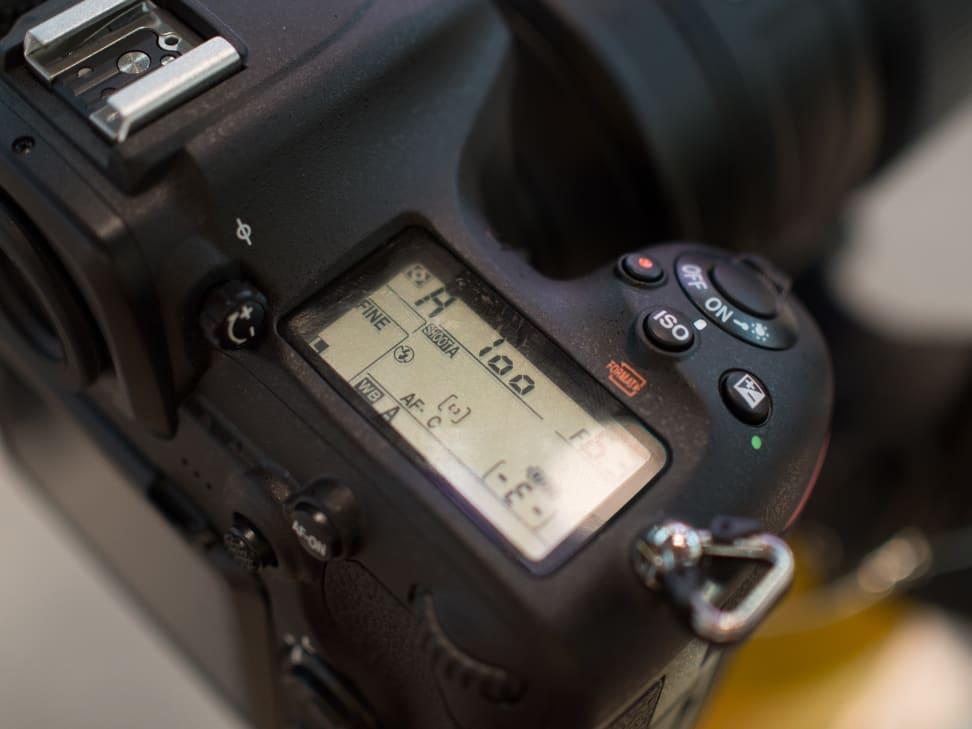 Nikon D500 Top Display
