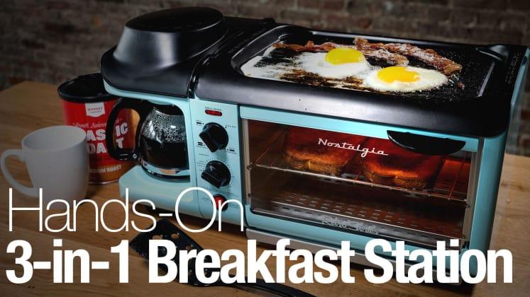 We tried the internet's favorite 3-in-1 breakfast maker—was it worth ...
