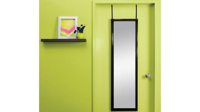 Target-over-door-mirror