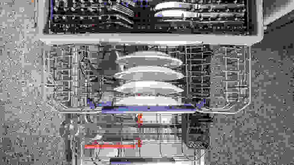 Interior of the Samsung DW80M9960US