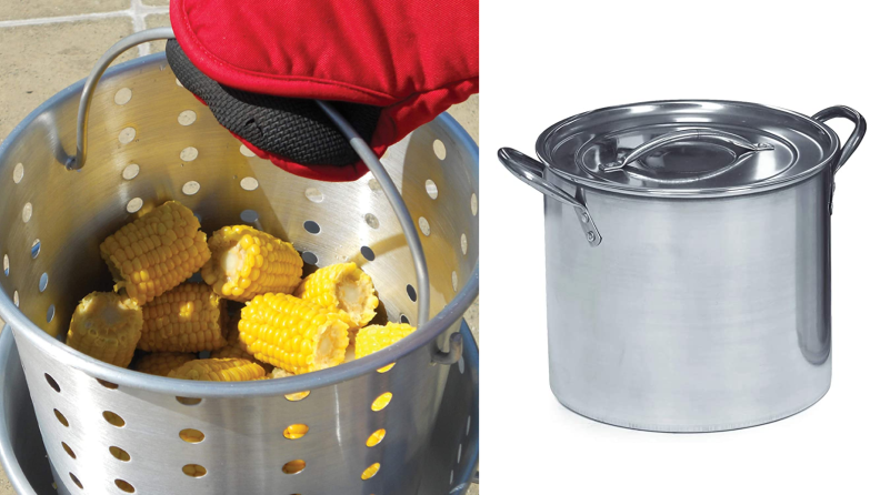 King Kooker boil pot and stockpot