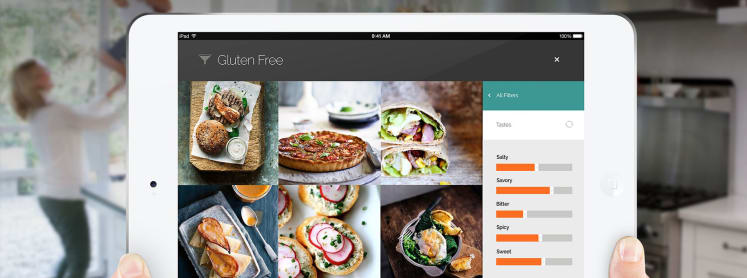 Hungry yummly has an ipad app for that reviewed ovens the pandora of recipes is now available on apple tablets forumfinder Choice Image