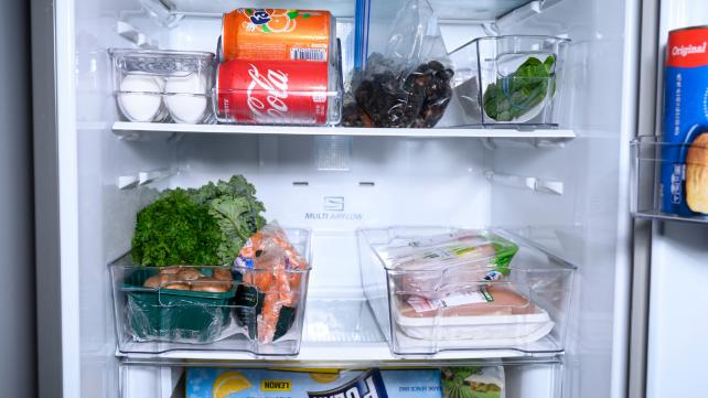 How to organize fridge with Sorbus fridge bins
