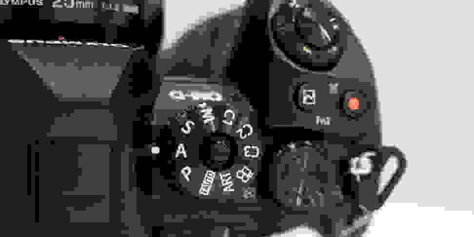 Olympus OM-D E-M1 Mark II Mode Dial Top Controls
