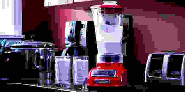 KitchenAid Diamond Blender Empire Red