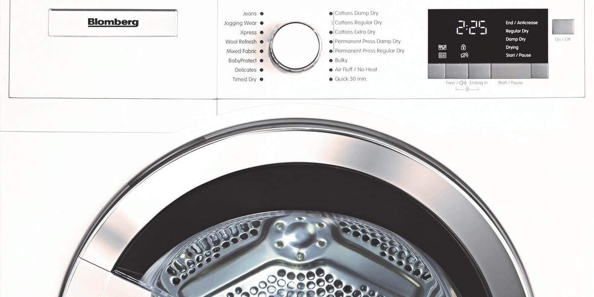 Blomberg Brings Ventless Heat Pump Dryer To U S