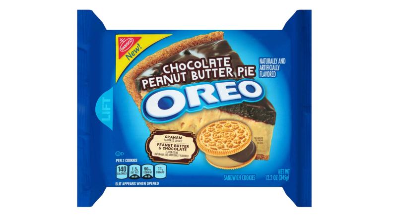 Chocolate Peanut Butter Pie Oreo