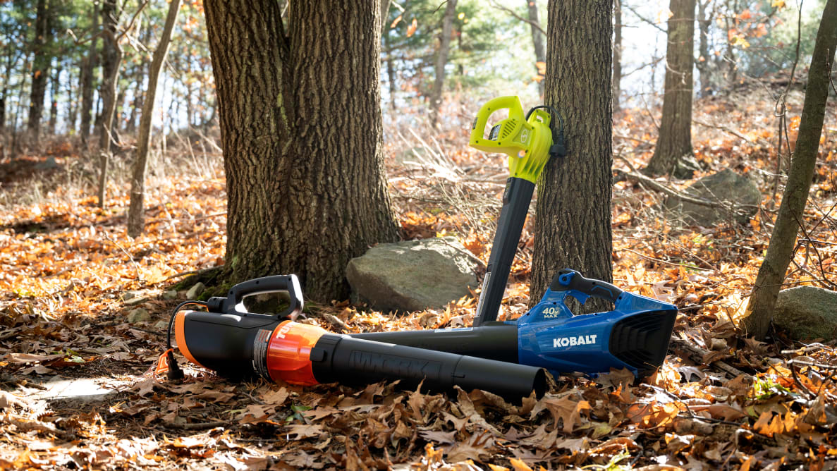 The best leaf blowers
