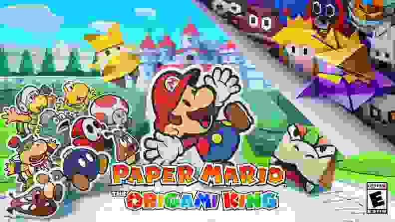 Mario Origami