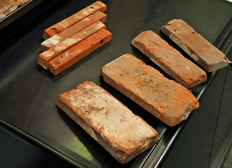 Stone Farm cuts whole bricks into thin veneers