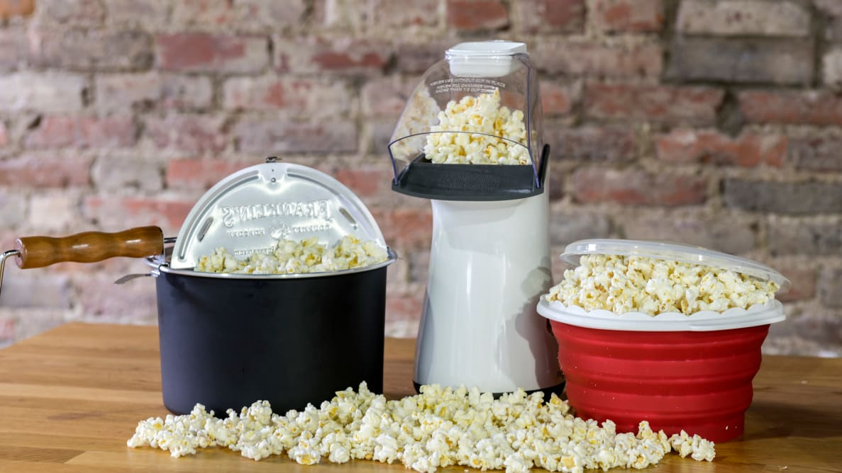The Best Popcorn Poppers