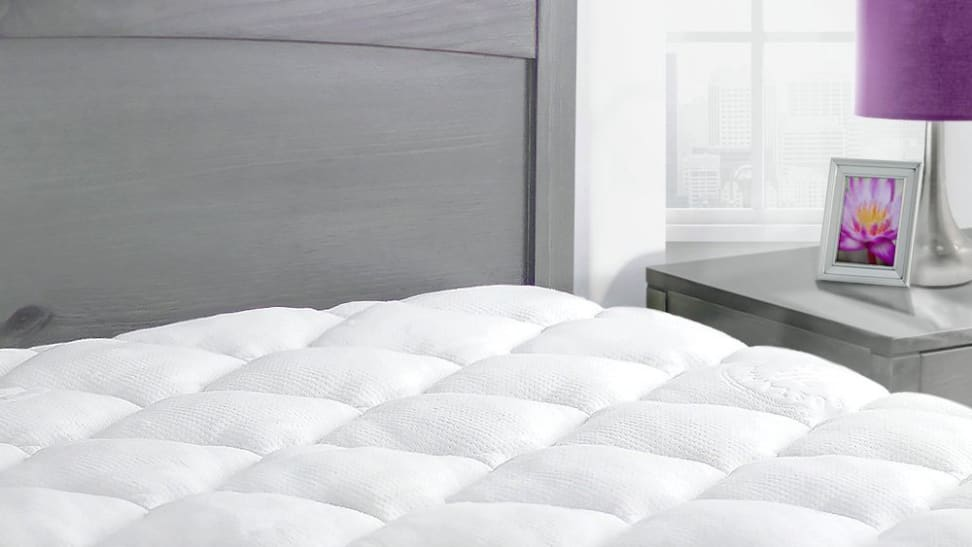 This plush bamboo mattress pad is back down to its lowest price right now