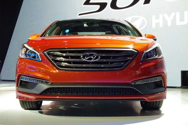 The facelifted 2015 Hyundai Sonata