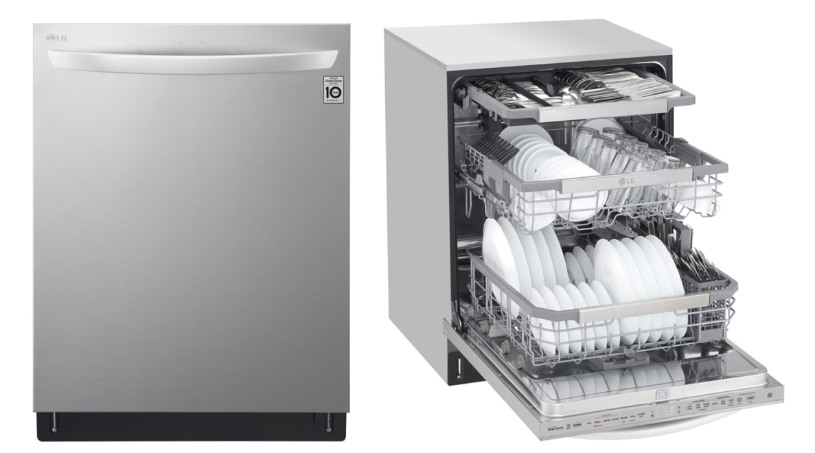 The LG LDT7808ST is every inch a dishwasher