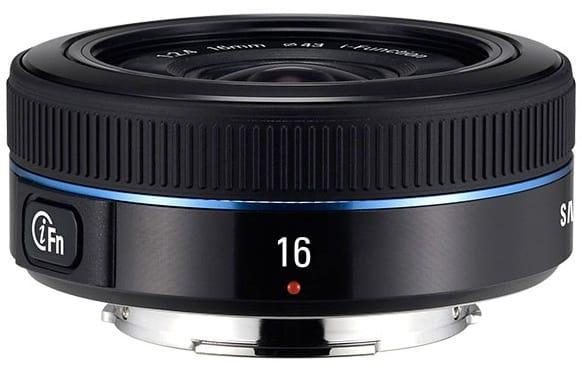 Product Image - Samsung 16mm f/2.4 Ultra wide pancake
