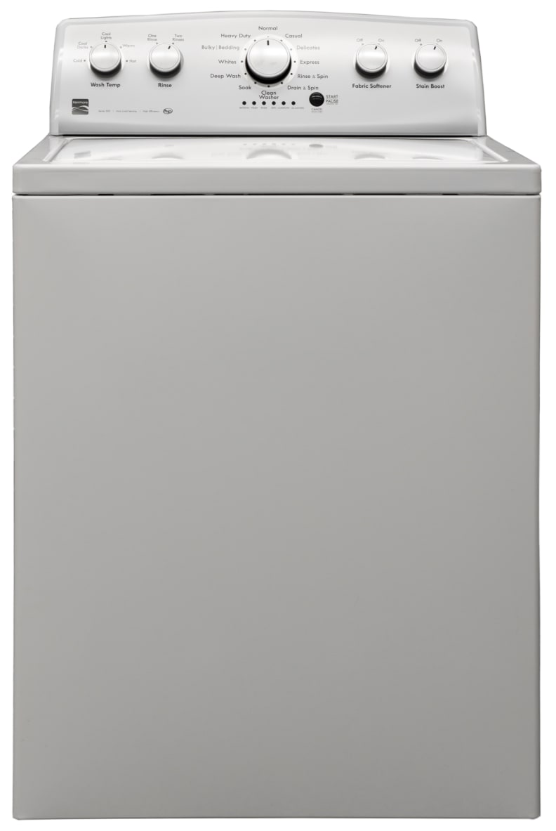The Kenmore 25132 is one plain washer.