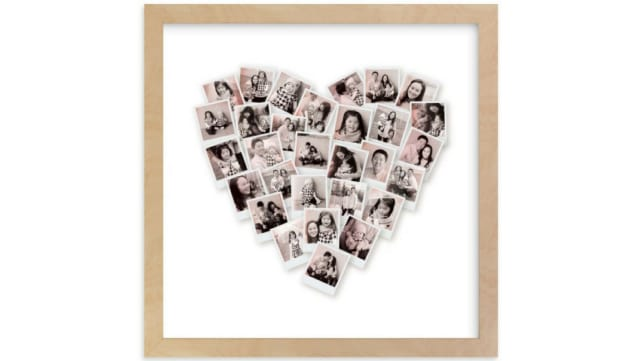 Minted Heart Collage