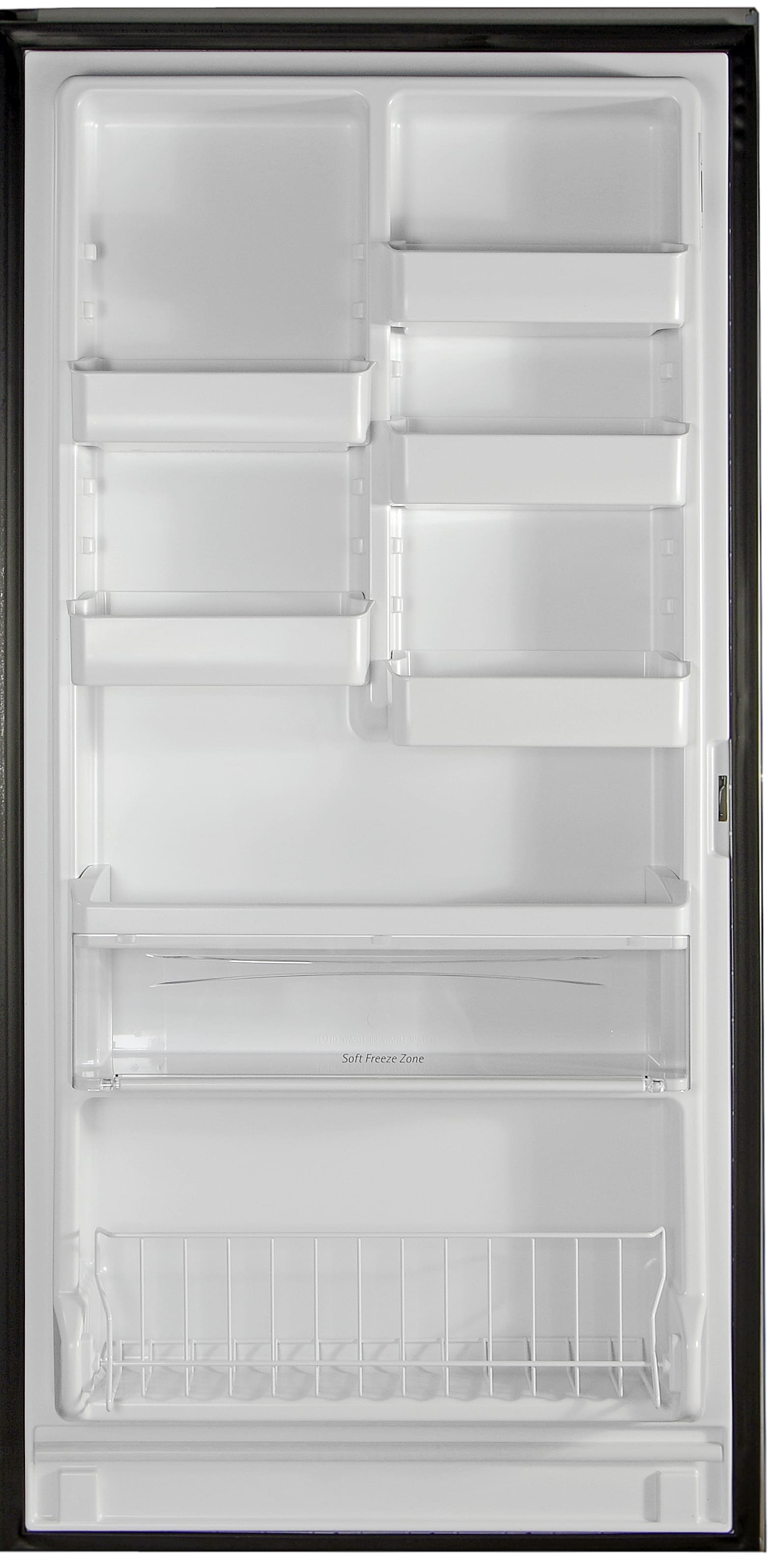 There's so much customizable storage on the door of the Kenmore Elite 28093!