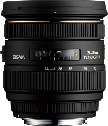 Product Image - Sigma 24-70mm f/2.8 IF EX DG HSM