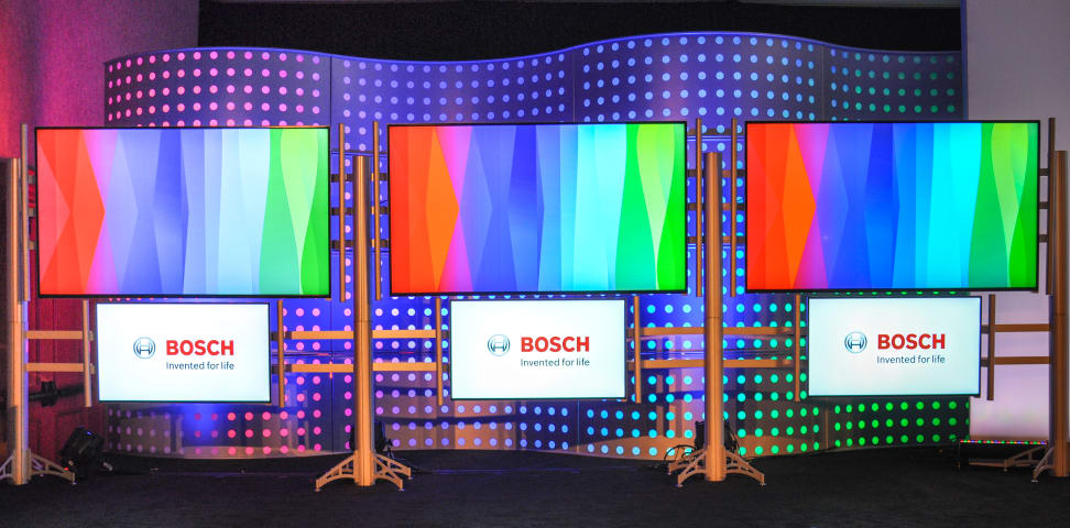 Bosch press conference CES 2016
