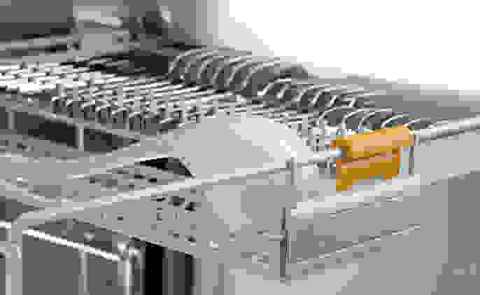 Manufacturer's render of the third rack