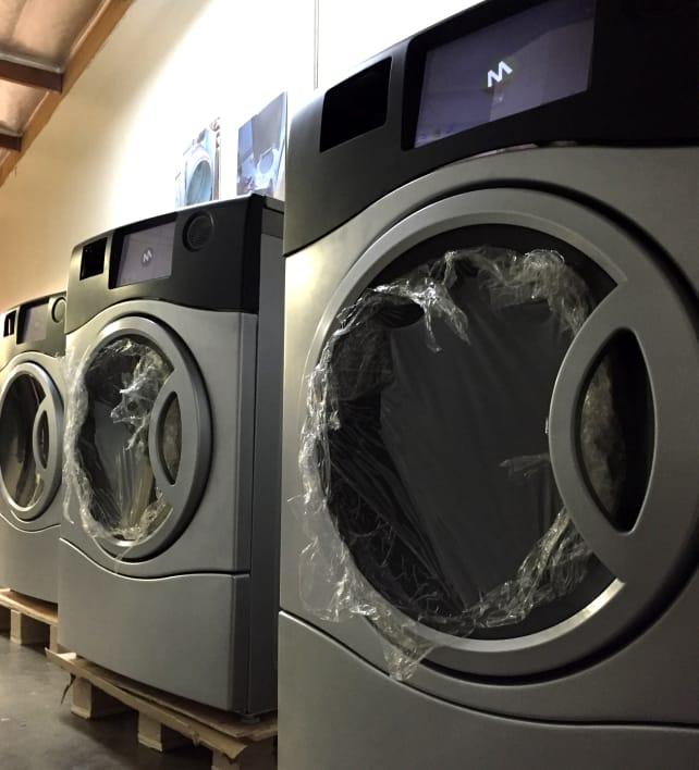 Marathon Laundry Washer Dryer Combo Closeup