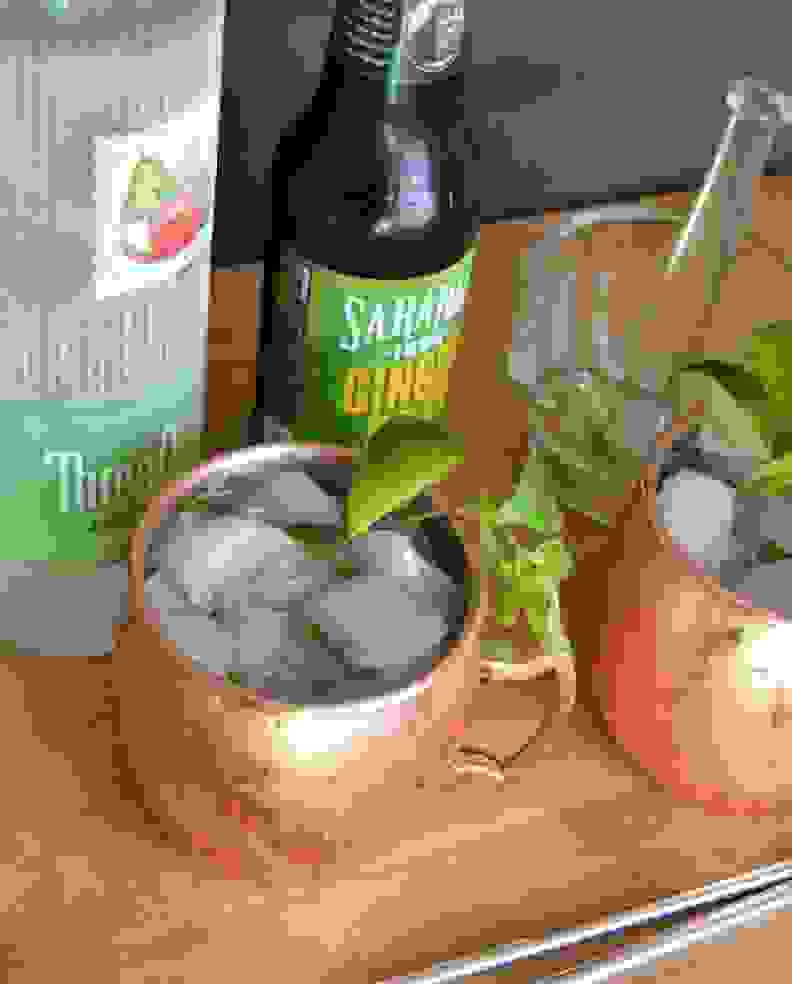 Fall Flavored Moscow Mule