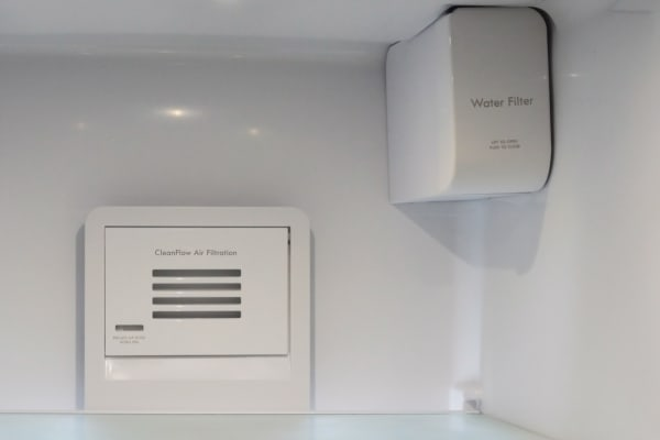 filter in fridge