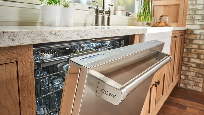 A luxurious Cove dishwasher