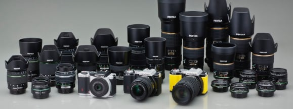 K mount lenses group