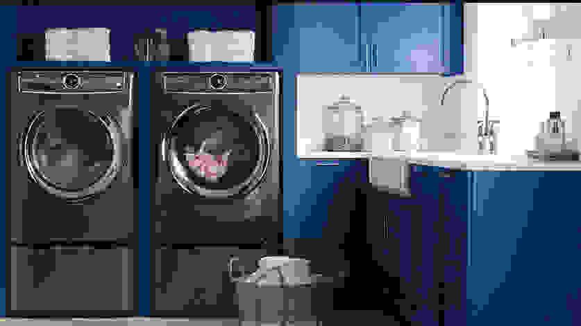The best dryer we've tested is the Electrolux EFME627UTT