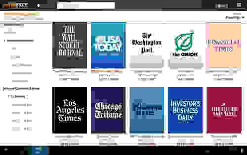 Newspapers & Magazines Image