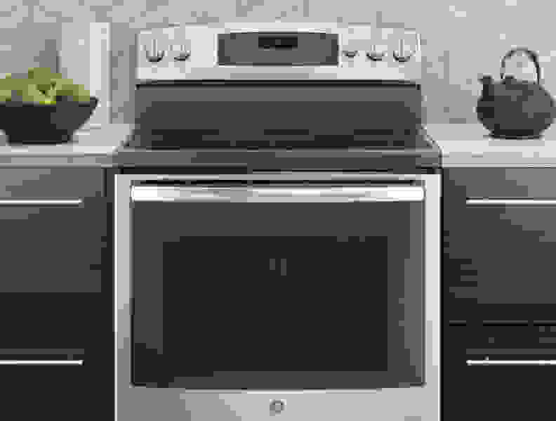 A range combines both an oven and a cooktop into a single, unified appliance.