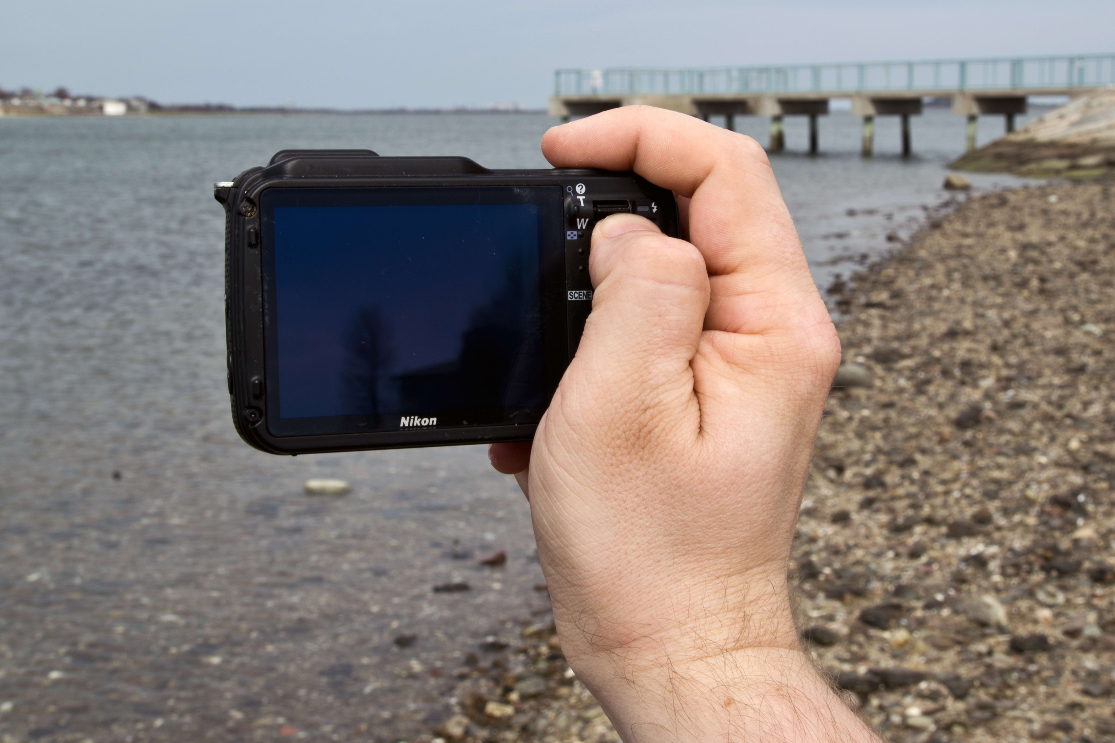A shot of the Nikon Coolpix AW120's handling in the wild.