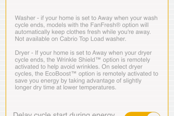 Whirlpool App Works with Nest integration