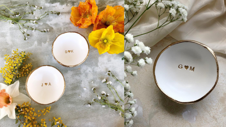 Best engagement gifts: Ring dish