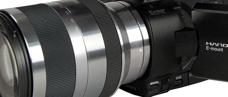 Product Image - Sony Handycam NEX-VG20