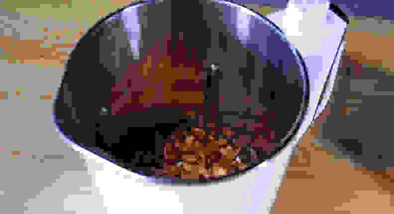 Almonds in Midea NRG Milk Extractor